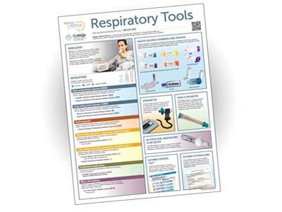 Thumbnail image of respiratory tools poster