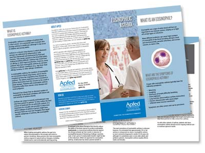 Thumbnail image of the eos asthma brochure by AFPED